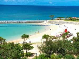 ザ・ビーチタワー沖縄 <共立リゾート>:ホテル目の前に広がるサンセットビーチ!