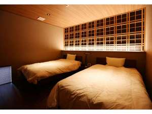 奥八女別邸やべのもり:ベッドルーム/①例