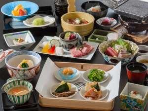 いにしえの宿 伊久:夕食のメインは4種の中からお好みの料理を選べる『趣肴膳』※イメージ