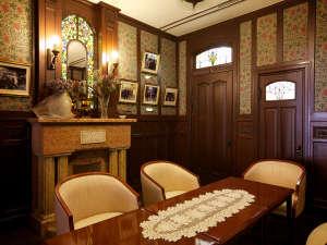 道後温泉 ふなや~創業三百九十余年~:現在の展示室「昭和天皇がご宿泊されたお部屋を移築したもの」