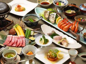 小樽旅亭 藏群:【お食事一例】小樽・道内の旬材にこだわり、和にとらわれない藏群独自の会席。