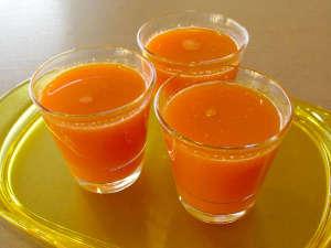 ヘルスピア倉敷:当館のファスティングはにんじんジュースをお食事のメインとして行います