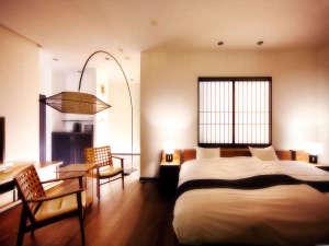 客室専用露天風呂付のスイートルーム はなれ 松島閣