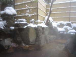 の猿 Hostel:男湯庭園露天風呂