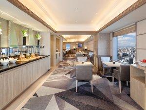 スイスホテル南海大阪:スイス エグゼクティブ クラブ ラウンジ