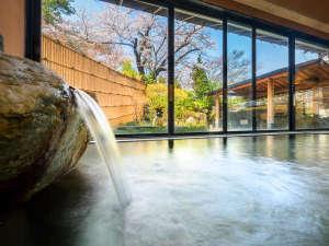 ■大浴場天童■春には大きな桜を眺めながら「の~んびり」