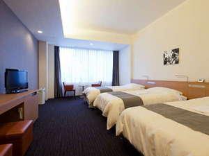 広島東急REIホテル:トリプルB 42㎡ オリジナルベッド「NAGOMI」・オリジナルピロー