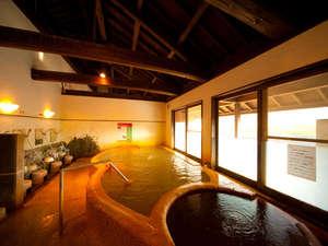 万象の湯 湯治場棟:【大浴場】水風呂が併設されております。