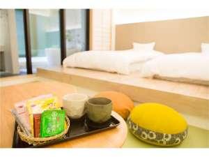 THE HOTEL KIYOMIZU 御所西:お部屋の珈琲をお気に召されたら、フロントでも販売しておりますので、お土産にどうぞ