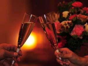記念日にはシャンパンで乾杯♪
