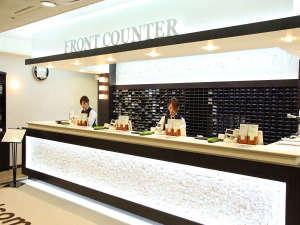 サウナ&カプセルホテル ダンディ:キレイ☆でオシャレ◆なフロントです♪ご来店をお待ちしております。