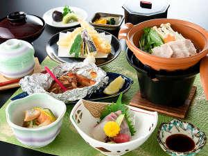 極楽寺山温泉 アルカディア・ビレッジ:このプランの夕食イメージです♪