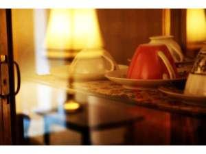 HOTEL Tsuki to Ichibanboshi:1Fカフェでゆっくりティータイム♪