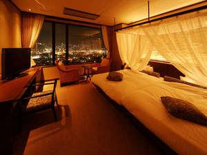 稲佐山温泉 ホテルアマンディ:◆エグゼ・プティ◆33㎡(ベッド幅140cm)