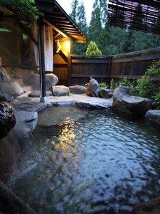 麓庵 民宿 たきざわ:すべてのお風呂が貸切OK。日帰り入浴も1名500円で可能。