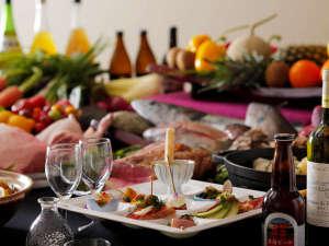 奥田政行シェフプロデュースによる、伝統の味と新しい味をミックスした、楽しい料理をお楽しみください。