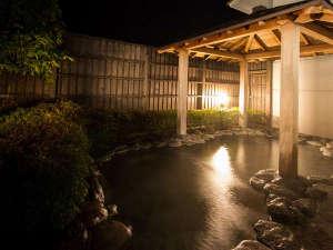 ホテルラフォーレ修善寺:温泉大浴場「森の湯」 露天風呂