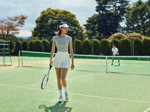 ホテルラフォーレ修善寺:テニスコート