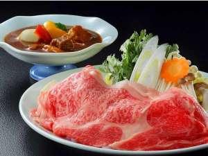 別館 ふじや旅館:山形牛と絶品ビーフシチューをぜひ、味わってください。