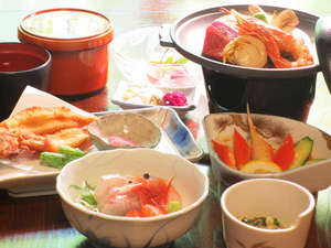 オタイコヒルズ:越前町の季節を感じるほっこり田舎料理☆(夕食一例)