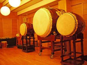 オタイコヒルズ:当館の名物『大太鼓』は西日本最大!!必見です♪