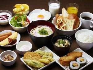 さぬきの湯 ドーミーイン高松:軽朝食セミバイキングです♪
