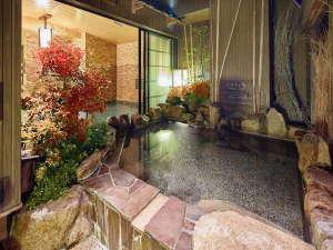 さぬきの湯 ドーミーイン高松:■露天風呂に入りながら紅葉も感じられます