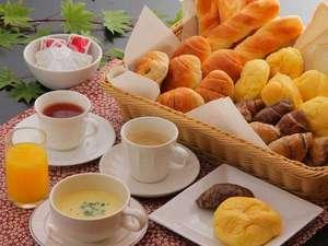 日光 季の遊: 軽朝食の一例