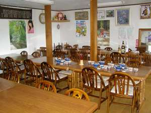 民宿すみれ荘:食堂
