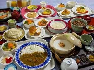 ホテルリブマックス札幌:朝食集合写真(朝食、選べる朝食)