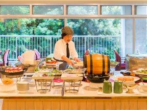 ホテル広島サンプラザ:〈朝食バイキング〉できたての美味しさをお召し上がりください