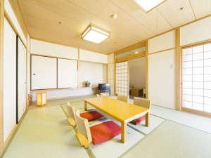 ホテル広島サンプラザ:〈特別和室〉12畳の広さで、最大6名様までご利用できます。家族旅行や女子旅に最適☆