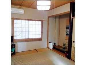 コテージ・凜:落ち着いた和室は3名様までお休みになれます。