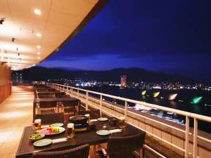 琵琶湖ホテル:【屋上アウトドアバーベキュー星】景色とお肉を楽しむ夏季限定レストラン!