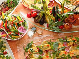 琵琶湖ホテル:【イタリアンダイニング ベルラーゴ】滋賀野菜イメージ
