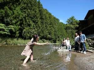たまゆらの里:夏は川遊びだー!
