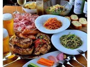 ARKHostel&CafeDining アークホステル:【コースお料理も!】大人数でのお食事用にコース料理も準備しています!