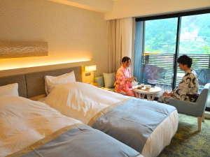 下呂温泉 小川屋別館 ゆらぎ ~YURAGI~:【ゆらぎ洋室】旅館のくつろぎを洋室でも。