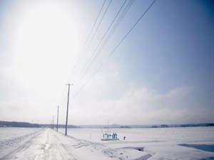 強首温泉 こわくびホテル :【冬の周辺景色】