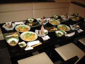 御殿場ビジネスホテル千楽:ご夕食の例