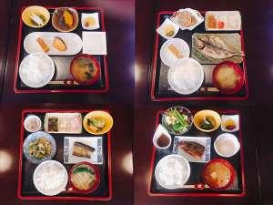 御殿場ビジネスホテル千楽:日替わり朝食