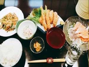 御殿場ビジネスホテル千楽:日替わり夕食