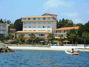 海辺のホテルはな 外観