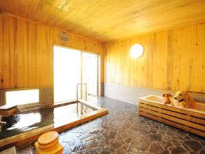 高山わんわんパラダイスホテル:わんちゃんと入れる内風呂