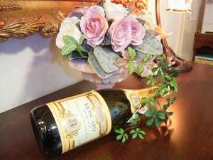 ドンペリからリーズナブルなワインまでご予算お好みに合わせて豊富に取り揃えております。
