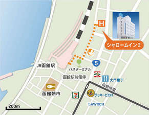 駅近郊地図