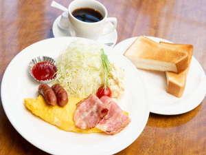 朝食 洋食【¥600税別】
