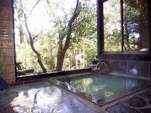長寿湯 箱根荘:露天風呂