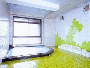 当館6階には大浴場が★こりゃ旅の疲れも吹っ飛ぶで~♪