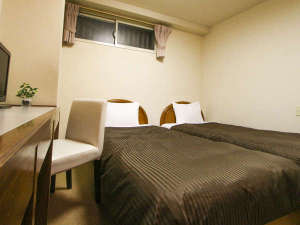 ホテルリブマックス日暮里:ツインルーム(ベッド幅100cm)